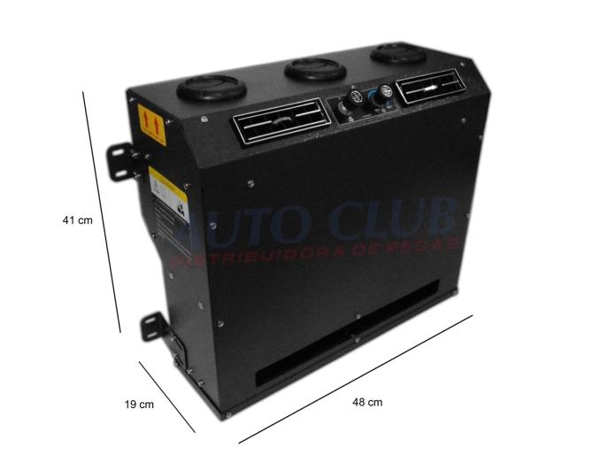 Auto club ar condicionado caixa evaporadora caixa for Aire acondicionado autocaravana 12v